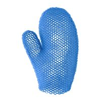 Supracor Bath Mitt blue