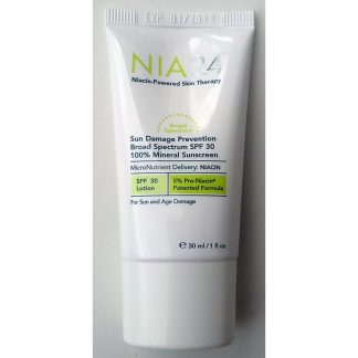 NIA24 Sun Damage Prevention Broad Spectrum SPF30 Travel Size