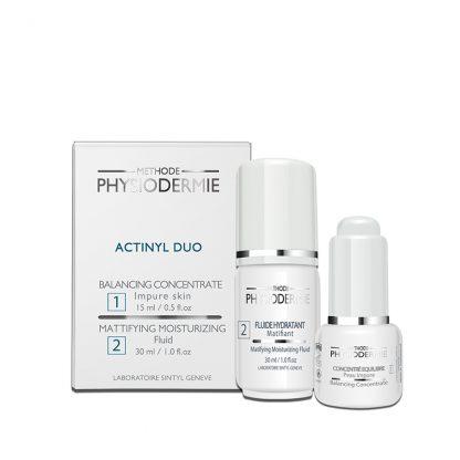 Methode Physiodermie Actinyl Duo
